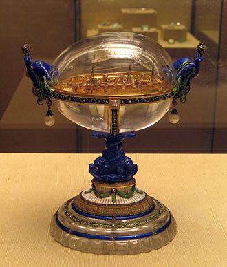 Standart Yacht (Fabergé egg) - Standart Yacht Egg
