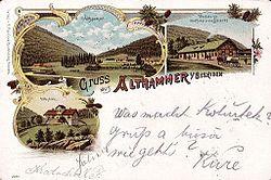 Staré Hamry, pohlednice 1901 01a.jpg