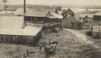 Alberton, Queensland - Alberton Sugar Mill, 1922