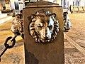 Statua di Garibaldi particolare della catena foto 1.jpg