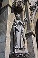 Statue de sainte Bathilde (reine de France), à Saint-Germain-lAuxerrois.jpg
