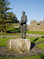 Statue of Michael Davitt and Straide Abbey - geograph.org.uk - 505508.jpg