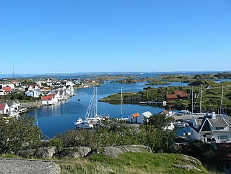 Kvitsøy - View of Ydstebøhamn