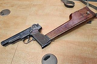 Stechkin automatic pistol submachine gun and machine pistol
