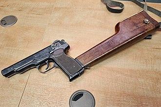 Stechkin automatic pistol - Stechkin automatic pistol