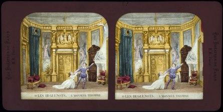 Stereokort, Les Huguenots 10, L'honneur triomphe - SMV - S58b.tif