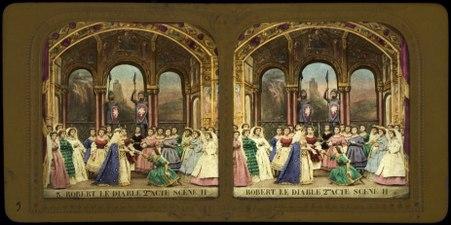 Stereokort, Robert le Diable 3, acte II, scène II - SMV - S105b.tif