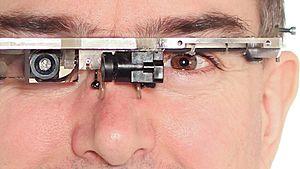 Steve Mann - Steve Mann with Generation-4 EyeTap