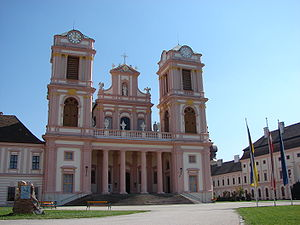 Göttweig Abbey - Image: Stift Goettweig Stiftskirche 02