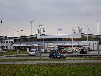Stockholm Västerås Airport - Image: Stockholm Västerås flygplats