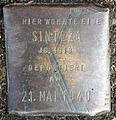 Stolperstein-Sinteza Jg 1918-Koeln-cc-by-denis-apel.jpg