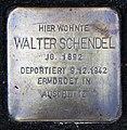 Stolperstein Hallandstr 12 (Panko) Walter Schendel.jpg