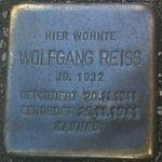 Stolperstein Munich Wolfgang Reiss.jpg