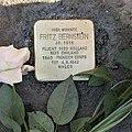 Stolperstein für Fritz Bernstein, Parkstraße 48a, Chemnitz (1).JPG