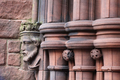 Stone Carving detail front door left hand side Greyfriars Kirk, Dumfries.png
