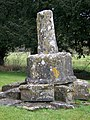Stone Cross, All Saints Church, Enford - geograph.org.uk - 1180558.jpg