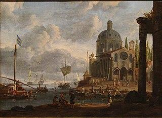 Un port de mer.