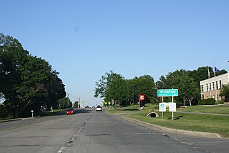 Stoughton, Wisconsin - Image: Stoughton Wisconsin Welcome Sign US51