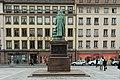 Strasbourg, place Gutenberg, statue de Gutenberg, David d'Angers 03.jpg