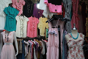 Wholesale Clothing Fabric Store