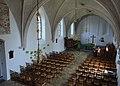 Stynsgea, Augustinustsjerke, ynterieur fan ôf de kreake.jpg