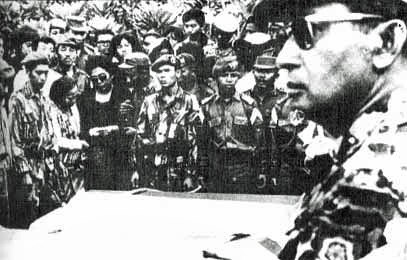 Suharto at funeral