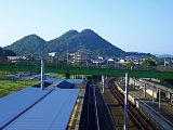 飯塚市忠隈のボタ山(筑豊富士)