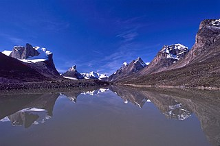 Akshayuk Pass mountain pass in Nunavut, Canada