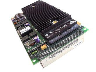 MBus (SPARC) - MBus module, Sun SuperSPARC II SM71