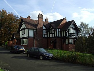 Glasgow International Exhibition (1901) - The Port Sunlight cottages in Kelvingrove Park are some of the few remaining original buildings from the 1901 exhibition.
