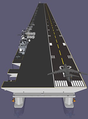 SketchUp - Image: Super carrier Mobile Offshore Base