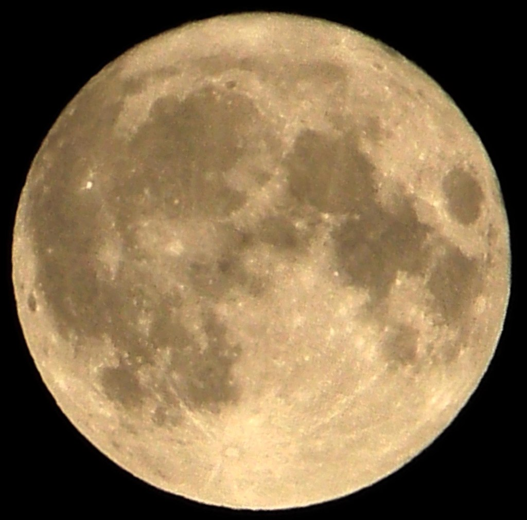 Supermoon from 2011