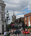 Sutton High St crossroads, SUTTON, Surrey, Greater London (2) - Flickr - tonymonblat.jpg