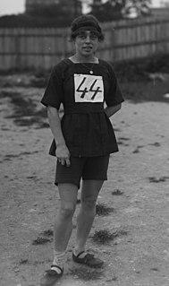 Suzanne Liébrard French athletics competitor