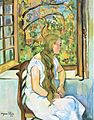 Suzanne Valadon - Germaine Utter in front of her Window.jpg