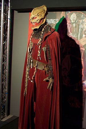 The Christmas Invasion - The Sycorax, as shown at the Doctor Who Experience.