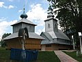 Synevyrska Polyana - Pokrovska belfry.JPG