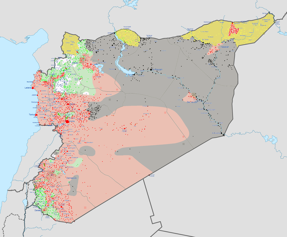 Syrian civil war 04 05 2015