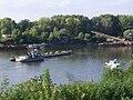 Szeged teherhajó rendőrségi ellenőrzése a Tiszán.JPG