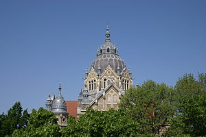 Lipót Baumhorn - Szeged Synagogue
