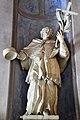 Szentgotthárd, ciszterci templom előcsarnokának Nepomuki Szent János szobra 2020 01.jpg