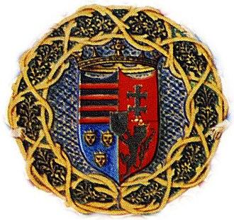 Szilágyi family - Coat of arms of Michael Szilágyi as Regent of Hungary