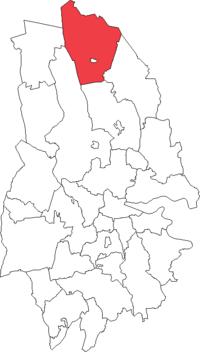 Ljusnarsbergs landskommune i Örebro amt