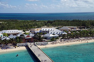 Turks and Caicos Islands - Cruise terminal at Grand Turk island