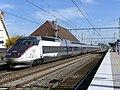 TGV Montpellier-Nancy en gare de Beaune (automne 2018).JPG