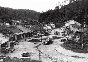 Time Tunnel (museum) - Brinchang, Cameron Highlands (c. 1950s)