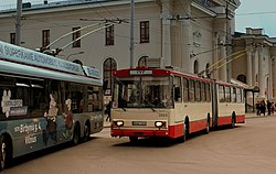TROLLEY BUSSES AT VILLINUS STATION LITHUANIA SEP 2013 (9851887796).jpg
