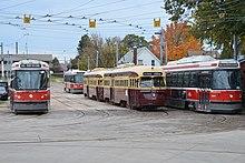 Toronto Streetcar System Rolling Stock Wikipedia