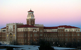 History of Texas Tech University - English and Philosophy Building