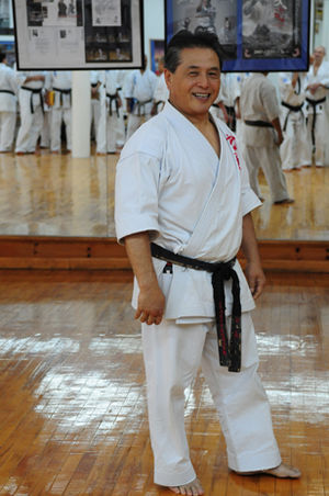 Tadashi Nakamura (martial artist) - Tadashi Nakamura at Honbu, 2009